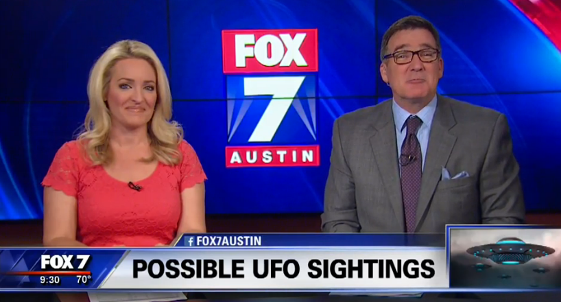 Meteor or UFO? Over Austin - Local News Reports Local Sighting